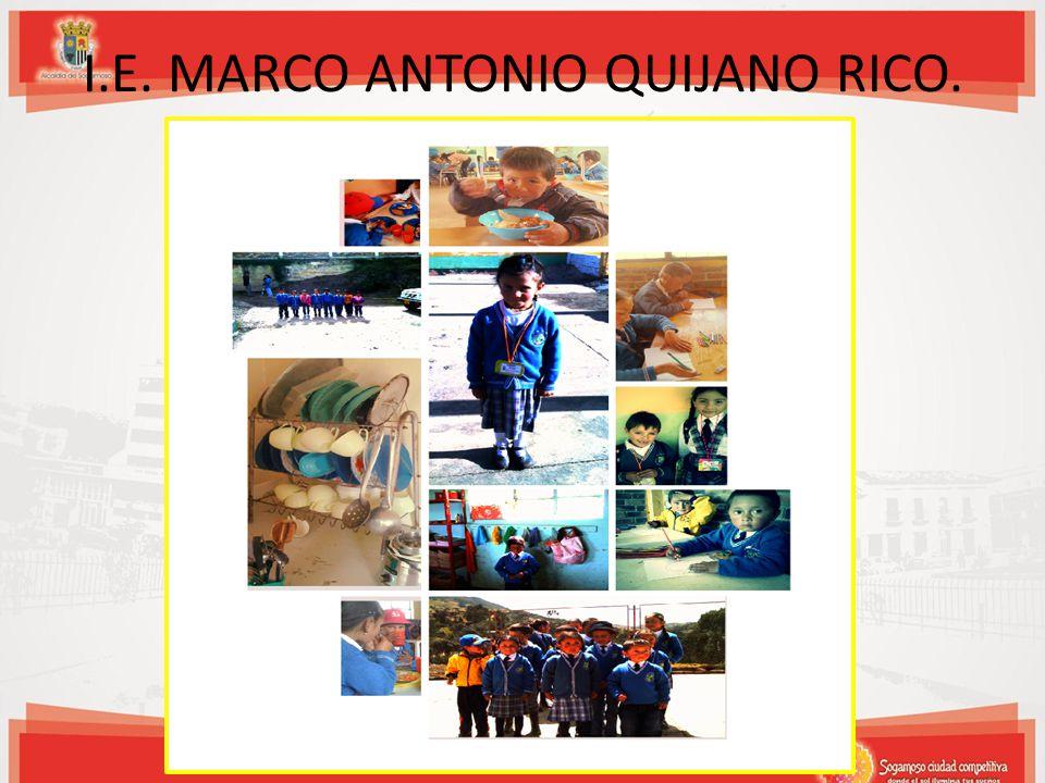 I.E. MARCO ANTONIO QUIJANO RICO.
