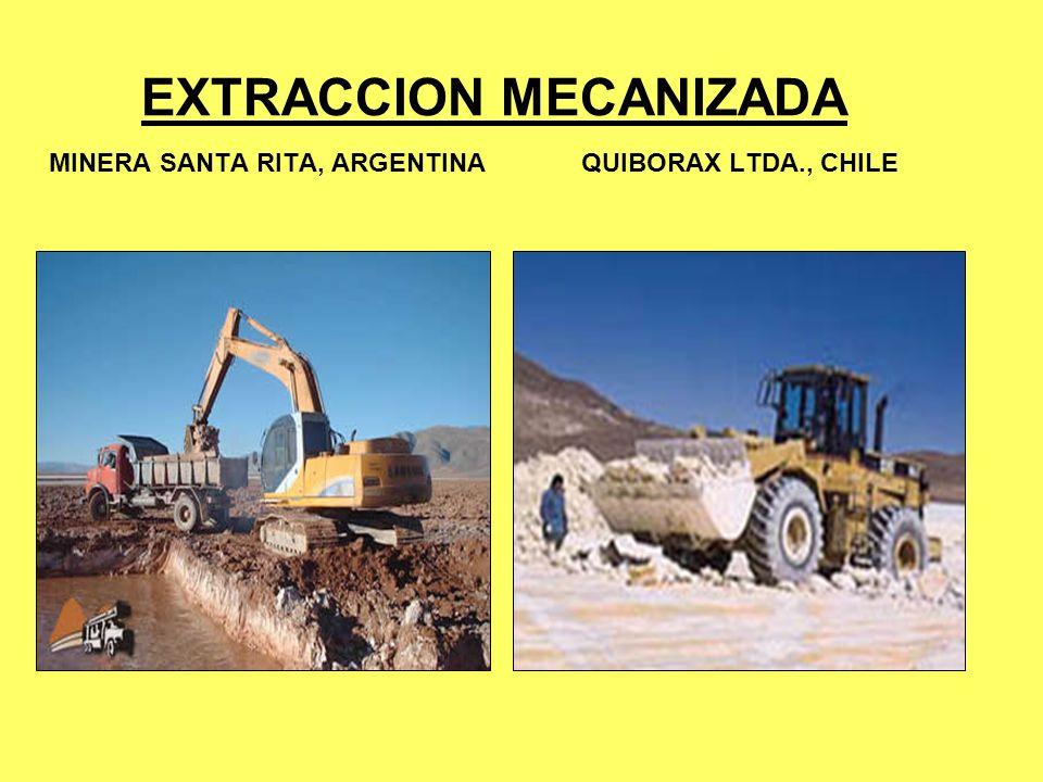 EXTRACCION MECANIZADA MINERA SANTA RITA, ARGENTINA QUIBORAX LTDA