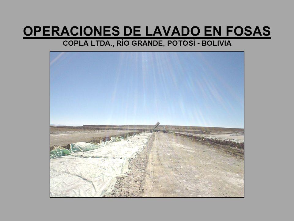 OPERACIONES DE LAVADO EN FOSAS COPLA LTDA