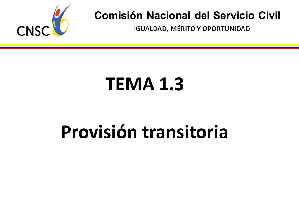 Provisión transitoria