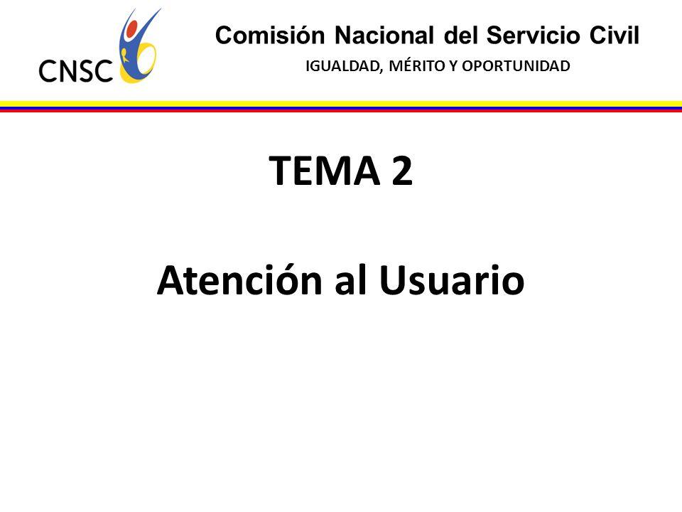 TEMA 2 Atención al Usuario