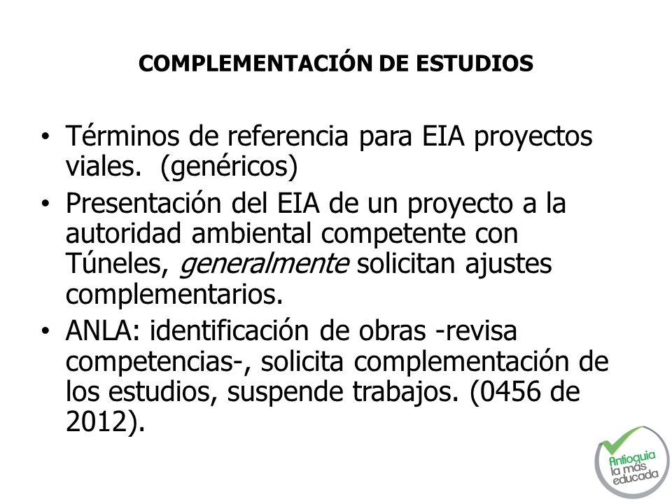 COMPLEMENTACIÓN DE ESTUDIOS
