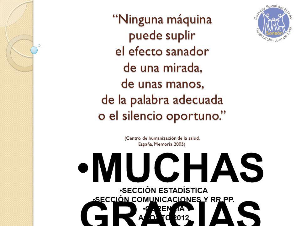 SECCIÓN COMUNICACIONES Y RR.PP.