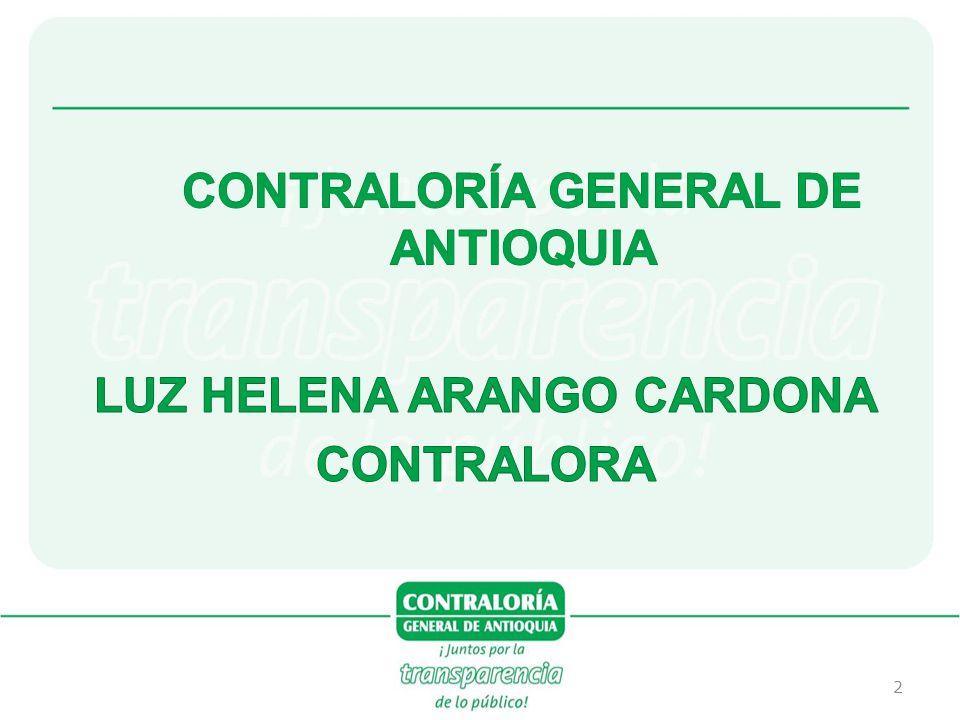 CONTRALORÍA GENERAL DE ANTIOQUIA