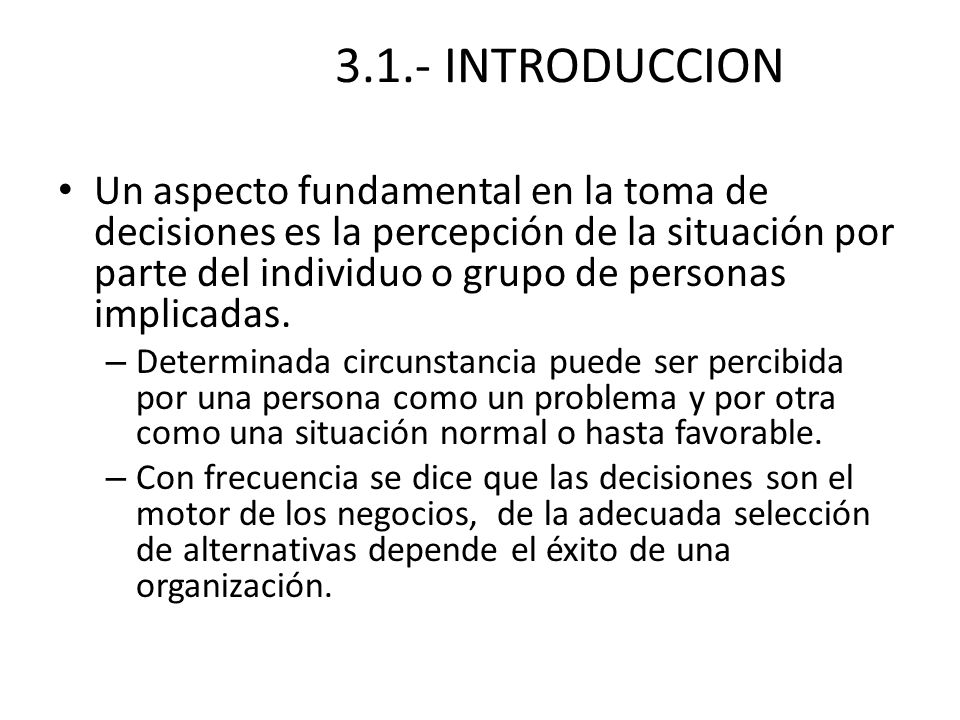 3.1.- INTRODUCCION