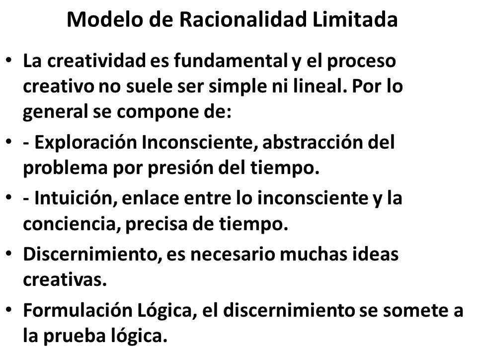 Modelo de Racionalidad Limitada