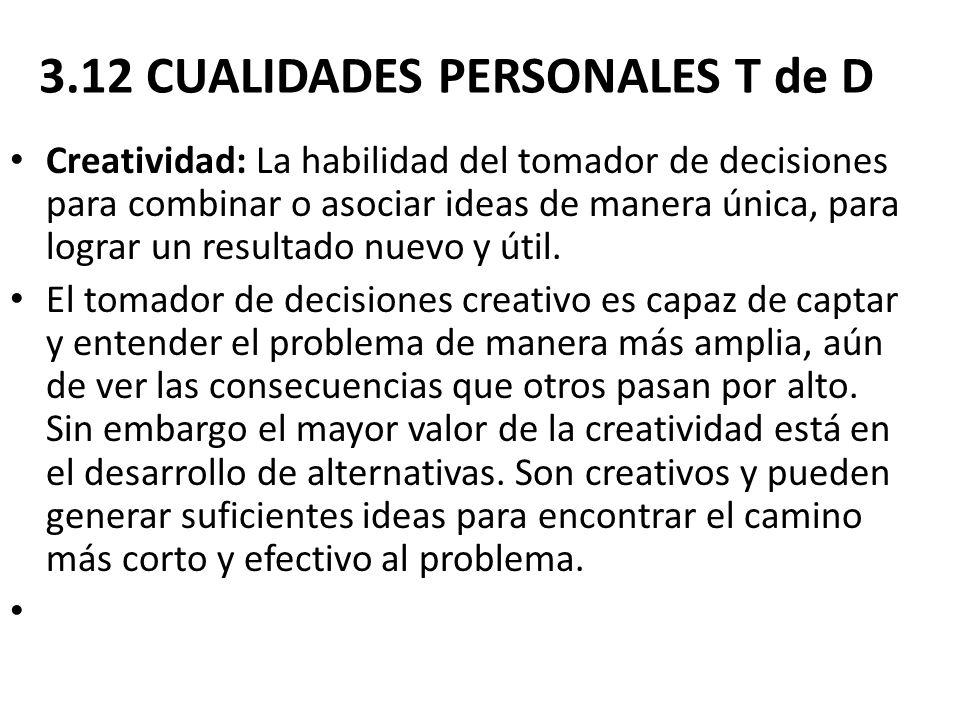 3.12 CUALIDADES PERSONALES T de D