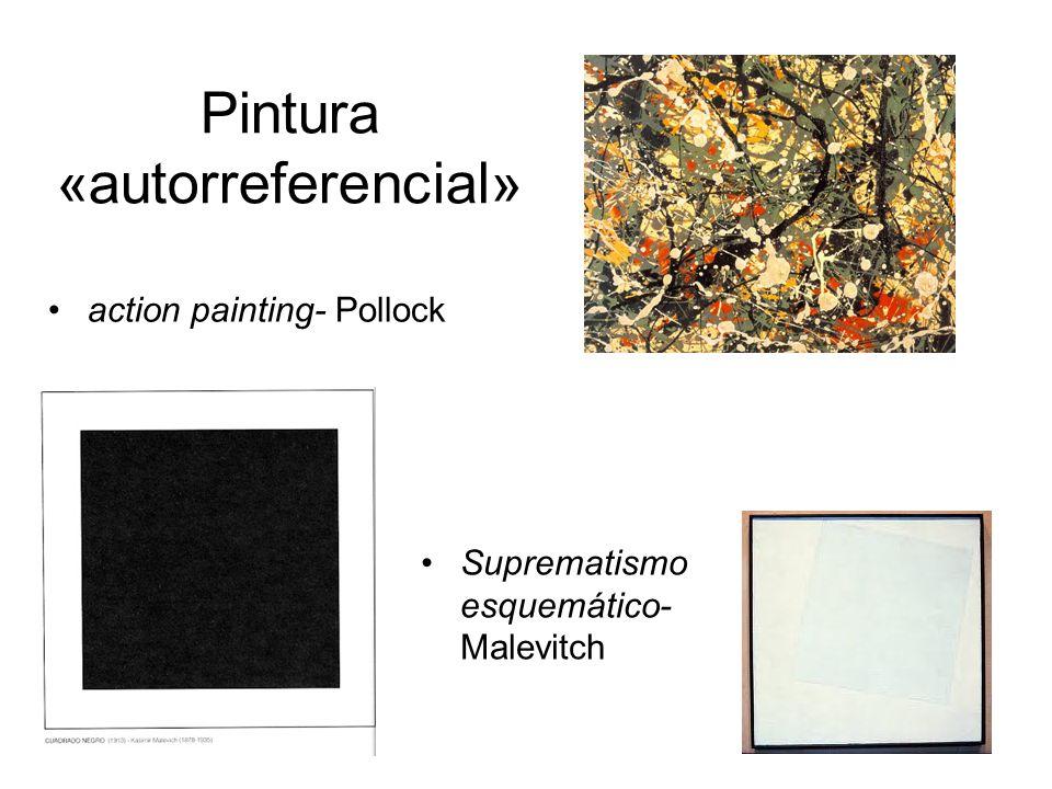 Pintura «autorreferencial»