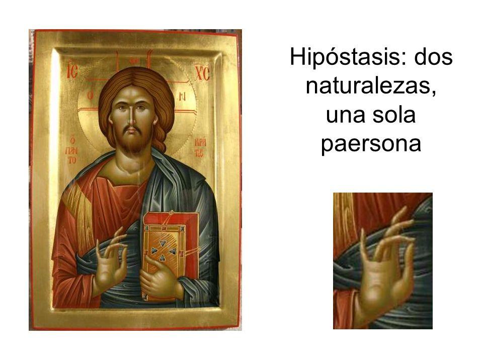 Hipóstasis: dos naturalezas, una sola paersona