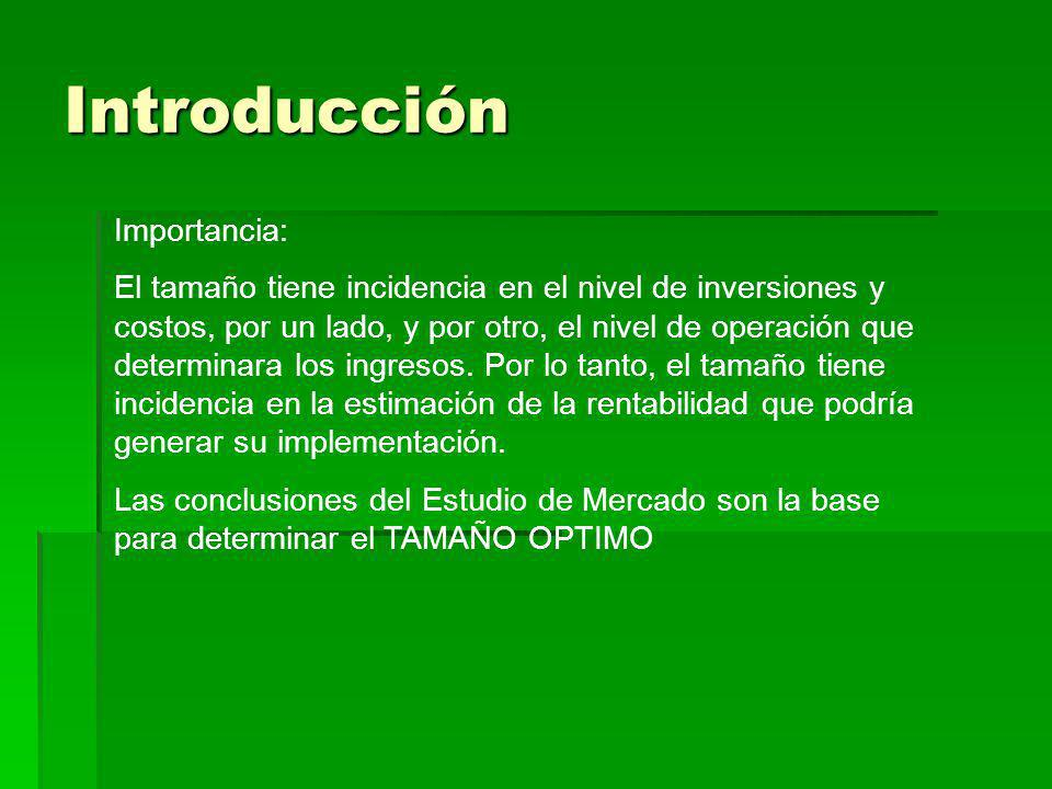 Introducción Importancia: