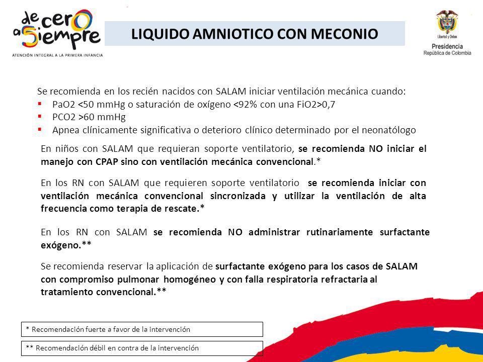LIQUIDO AMNIOTICO CON MECONIO