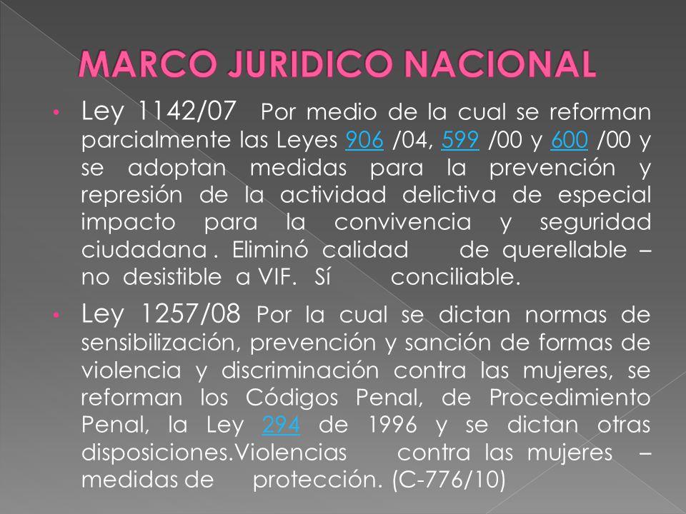 MARCO JURIDICO NACIONAL