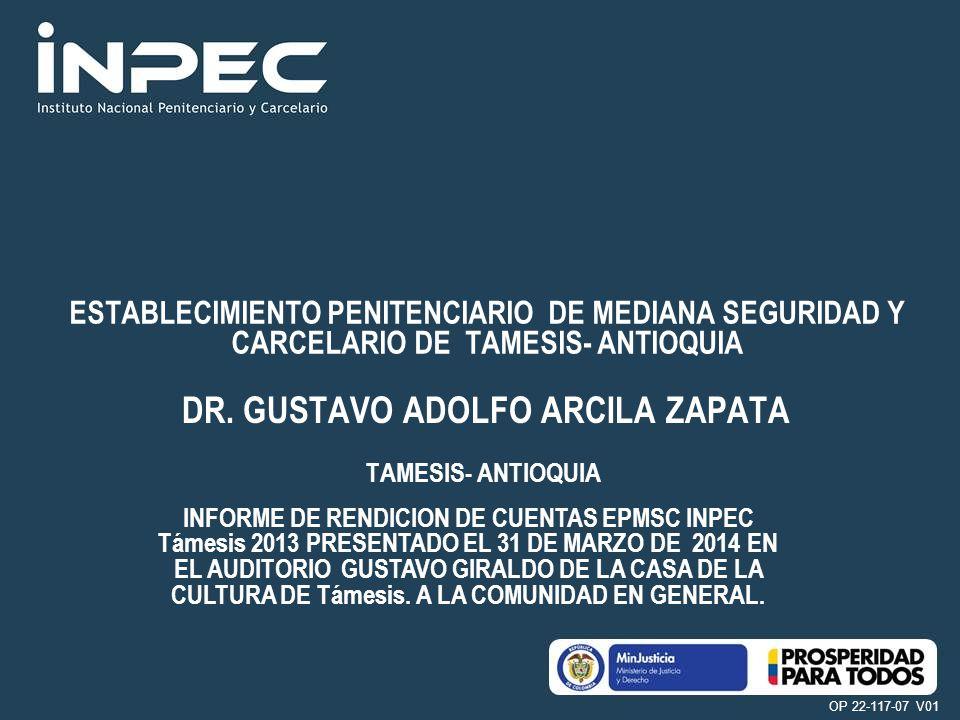 DR. GUSTAVO ADOLFO ARCILA ZAPATA