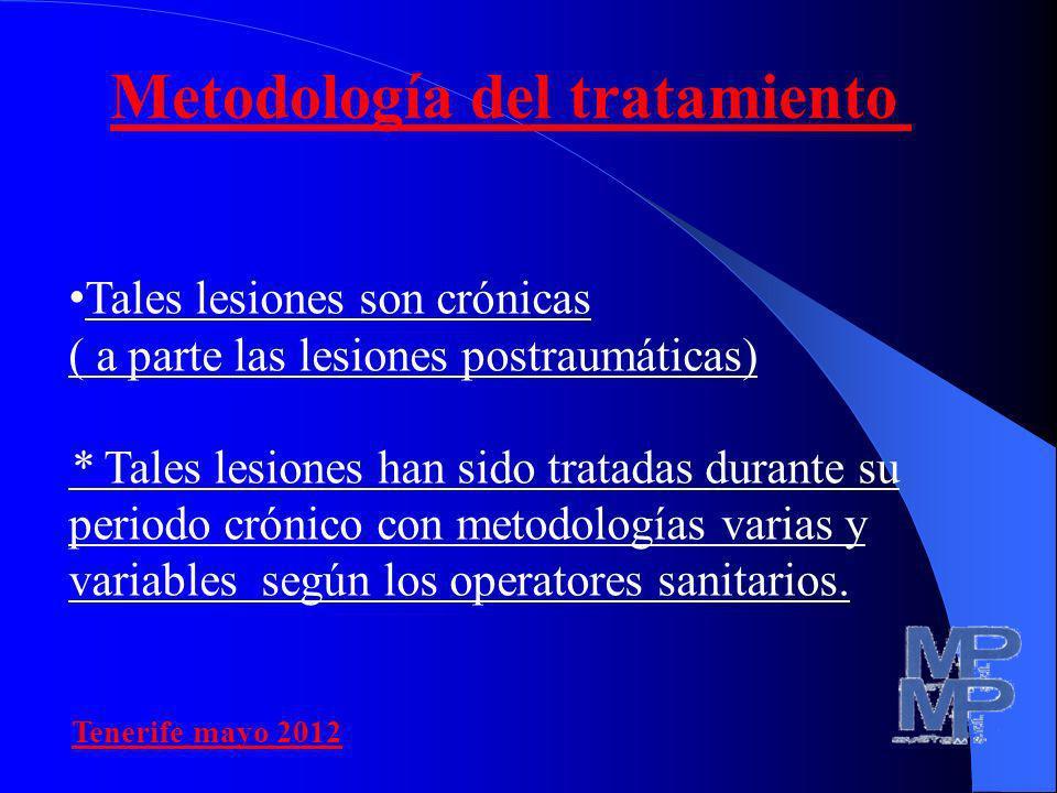 Metodología del tratamiento
