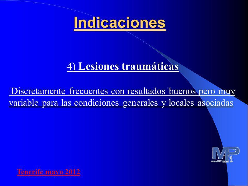 4) Lesiones traumáticas