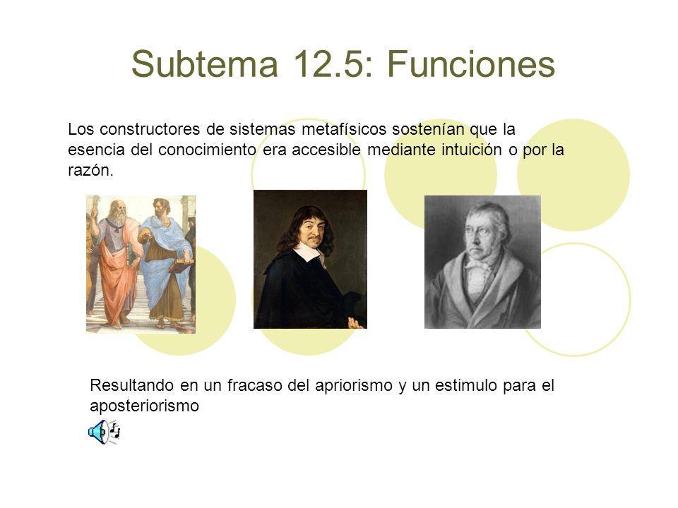 Subtema 12.5: Funciones