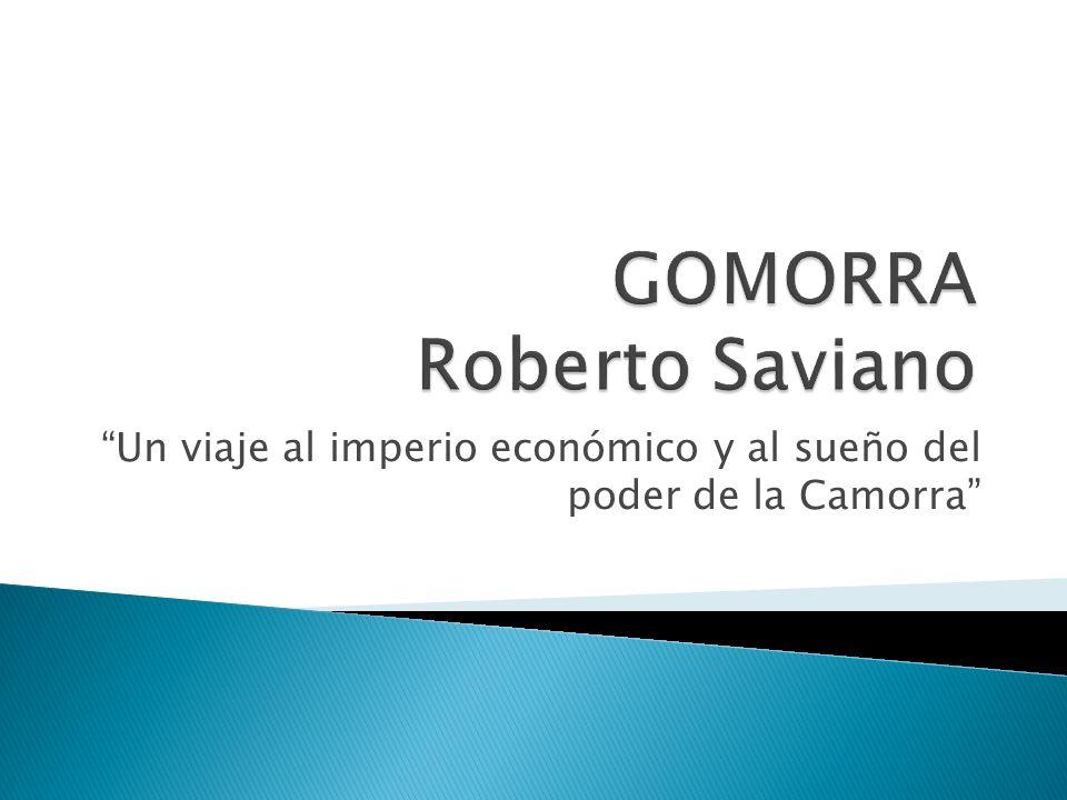 GOMORRA Roberto Saviano