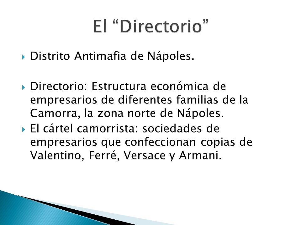 El Directorio Distrito Antimafia de Nápoles.