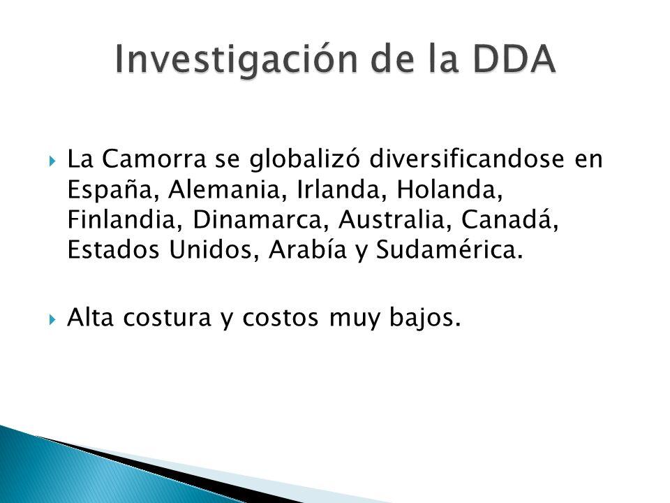 Investigación de la DDA