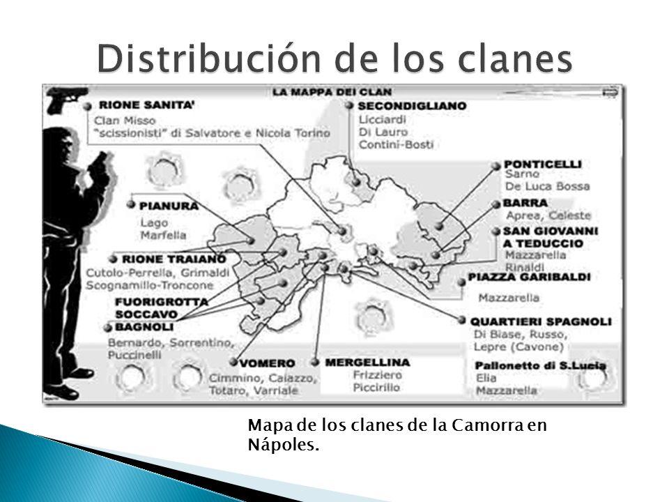 Distribución de los clanes