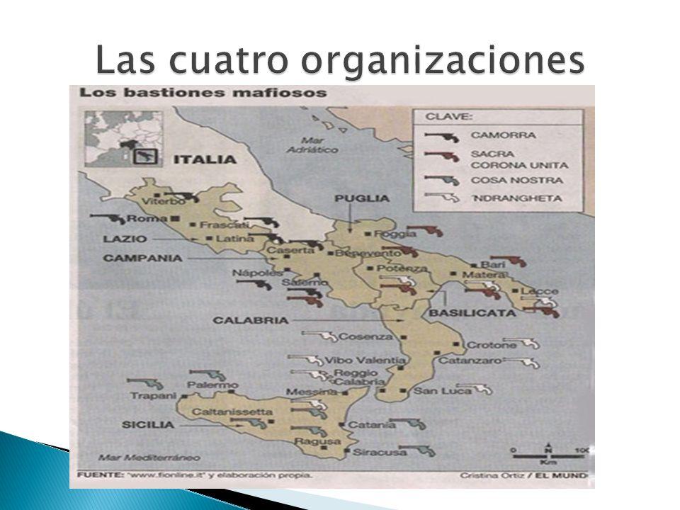 Las cuatro organizaciones