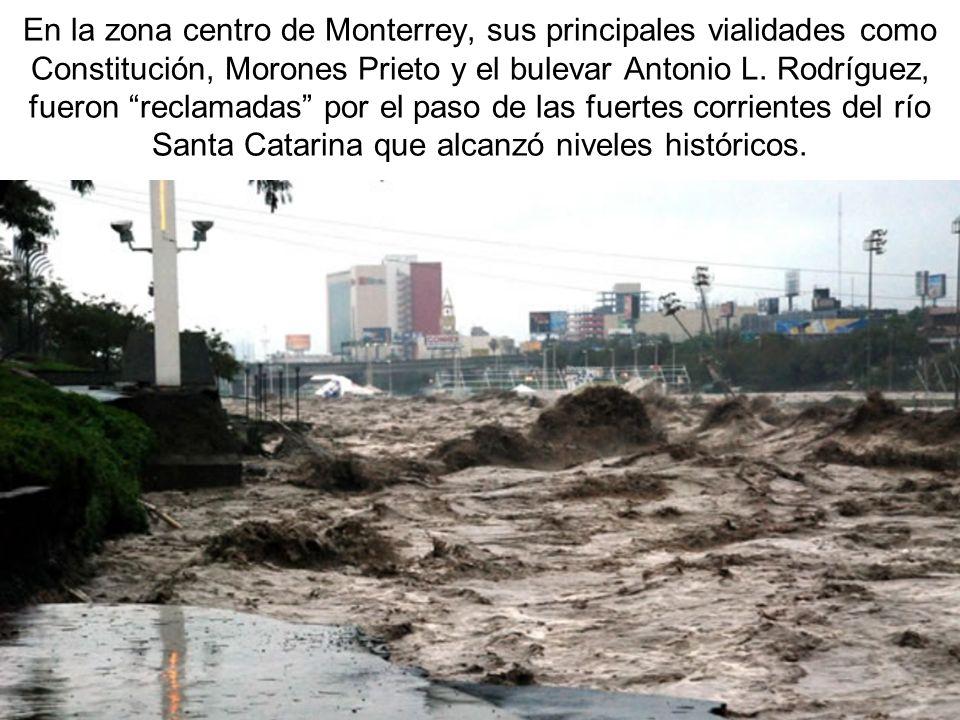 En la zona centro de Monterrey, sus principales vialidades como Constitución, Morones Prieto y el bulevar Antonio L.