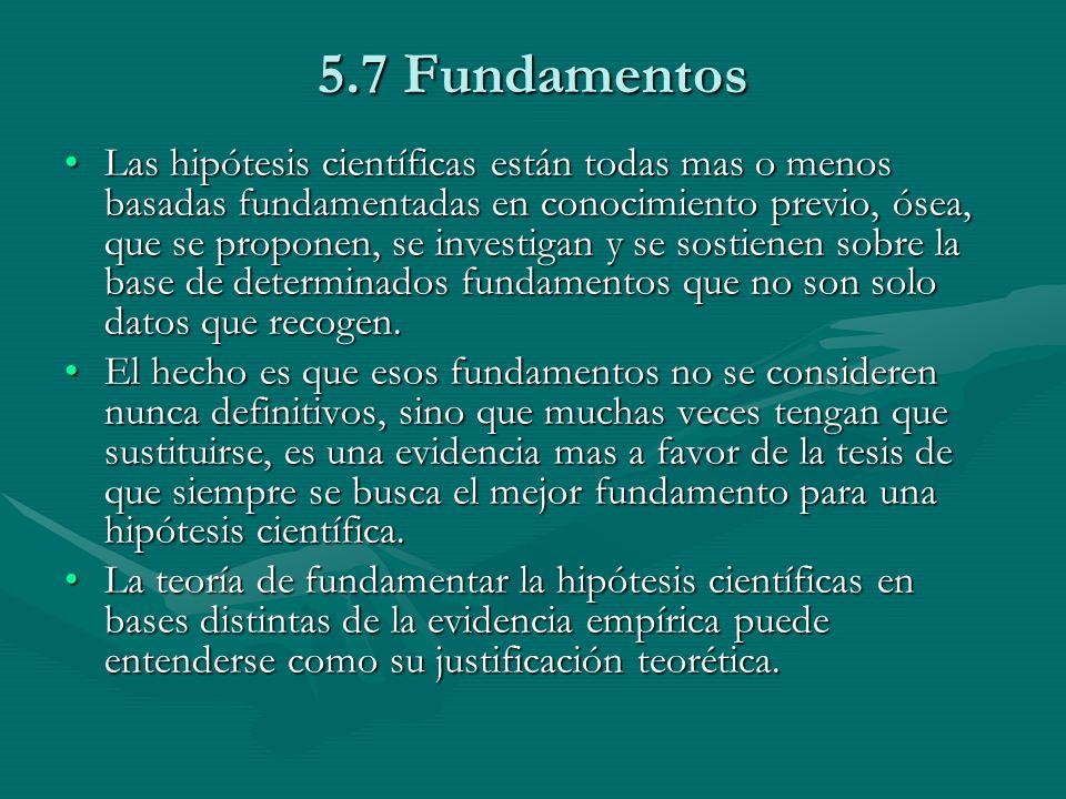 5.7 Fundamentos