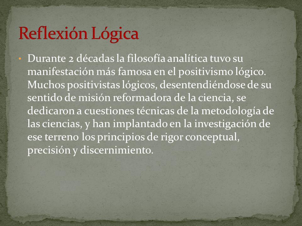 Reflexión Lógica