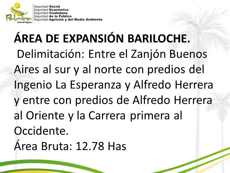 ÁREA DE EXPANSIÓN BARILOCHE