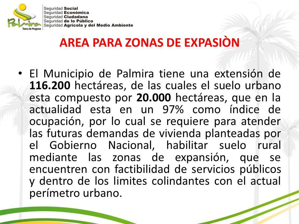 AREA PARA ZONAS DE EXPASIÒN
