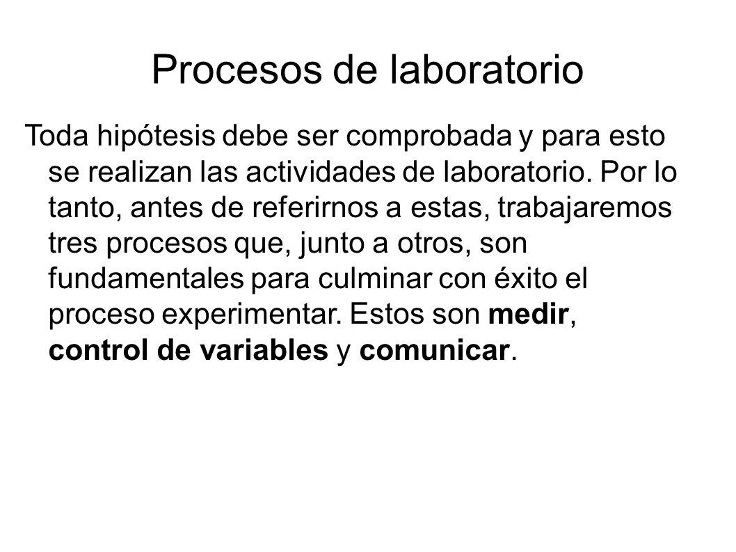 Procesos de laboratorio