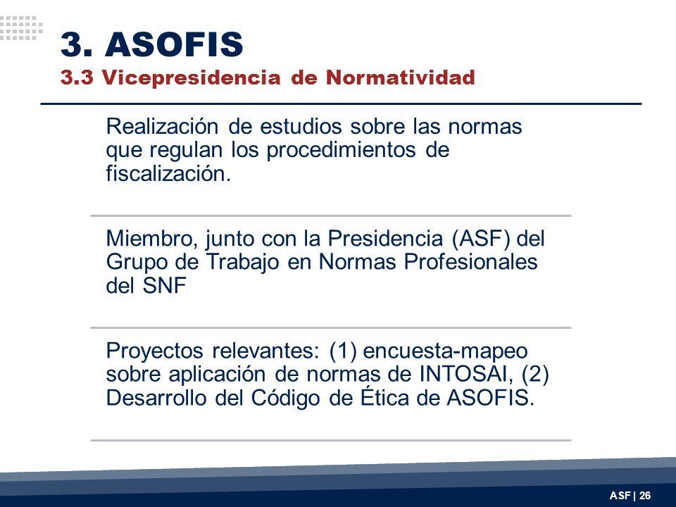 3. ASOFIS 3.3 Vicepresidencia de Normatividad