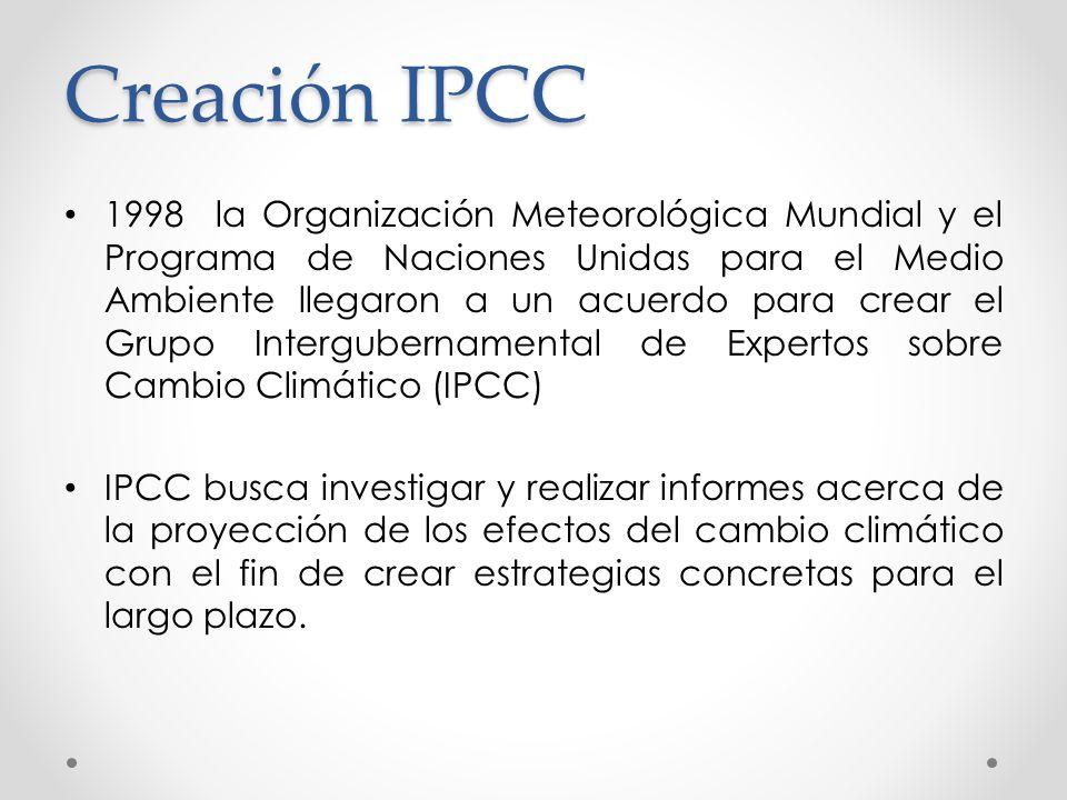 Creación IPCC