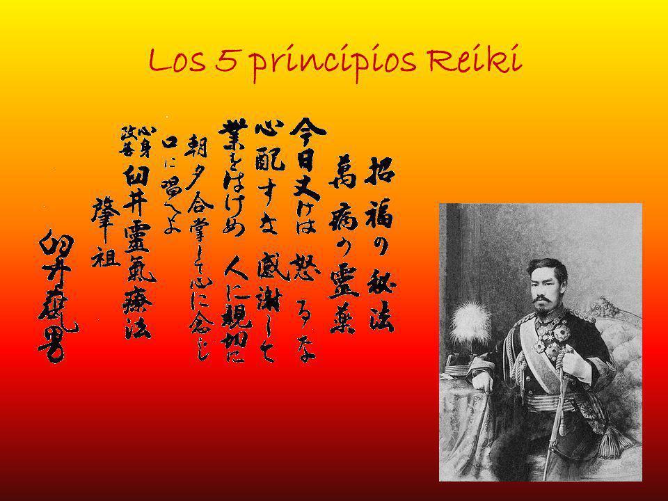 Los 5 principios Reiki