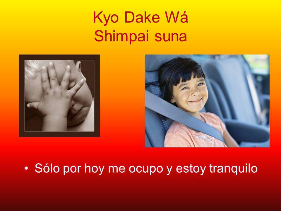 Kyo Dake Wá Shimpai suna