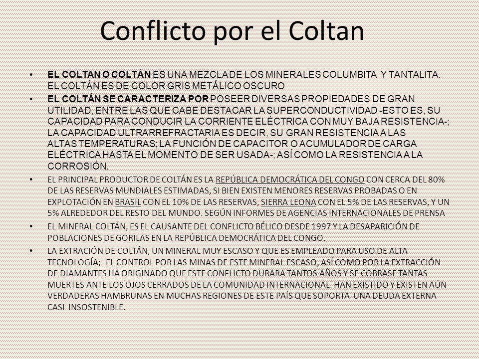 Conflicto por el Coltan