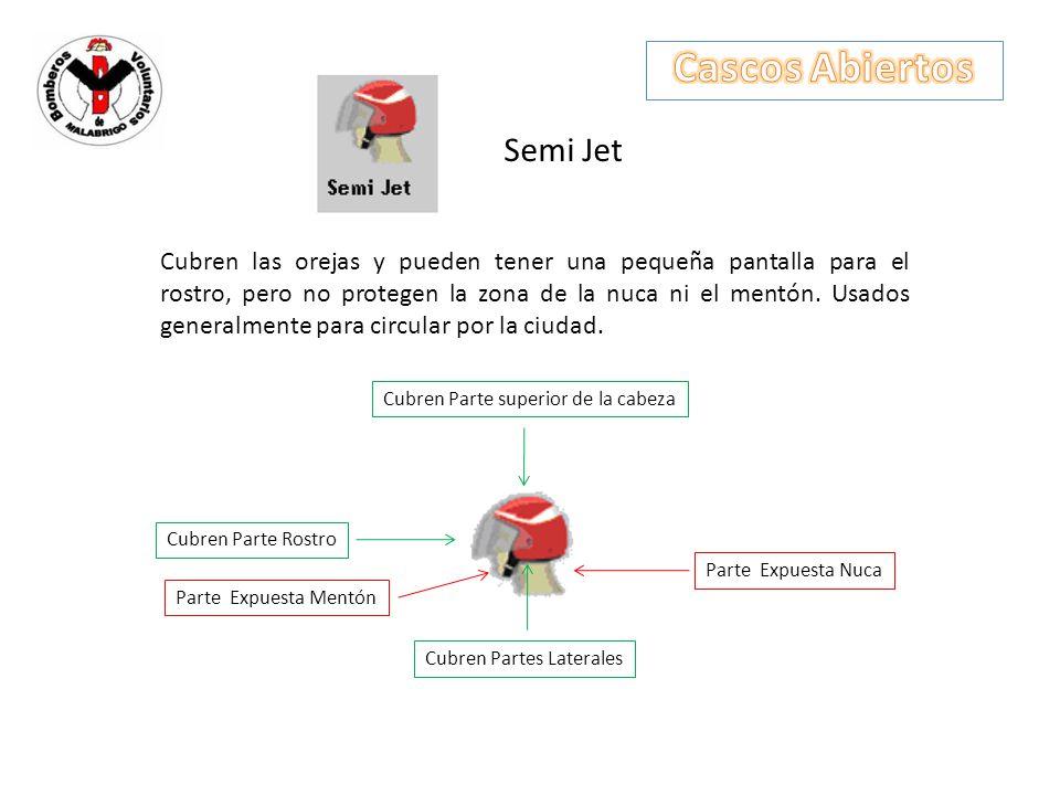 Cascos Abiertos Semi Jet