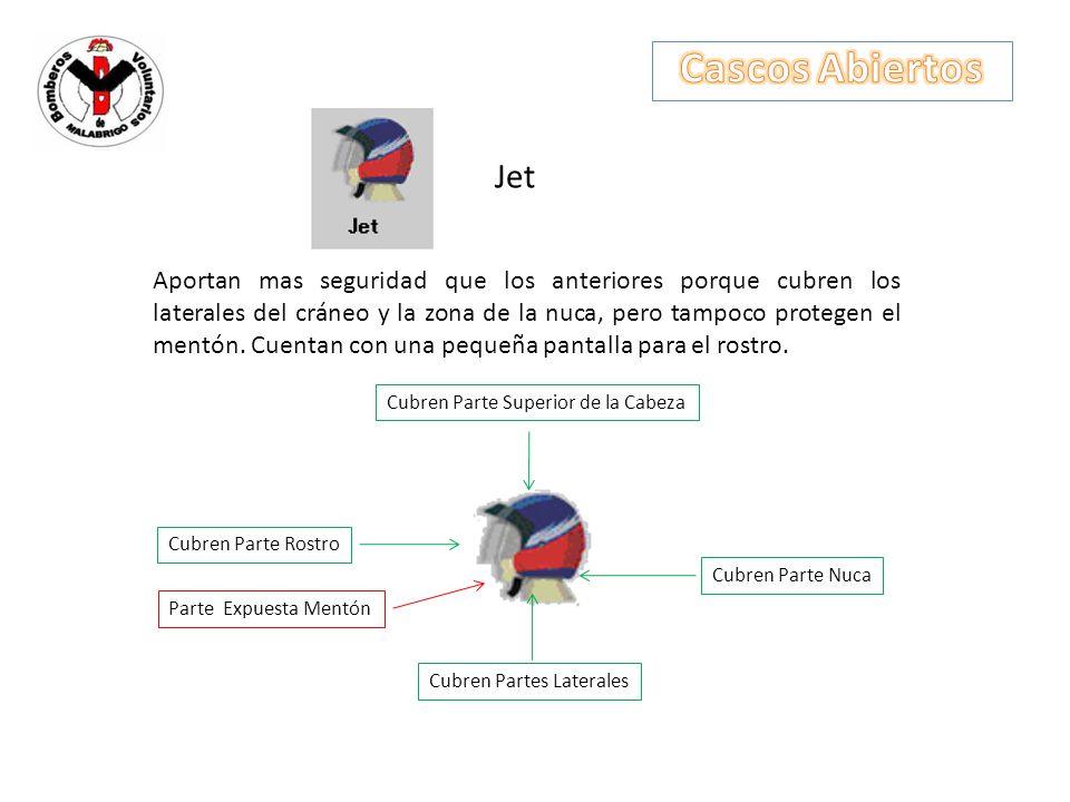Cascos Abiertos Jet.