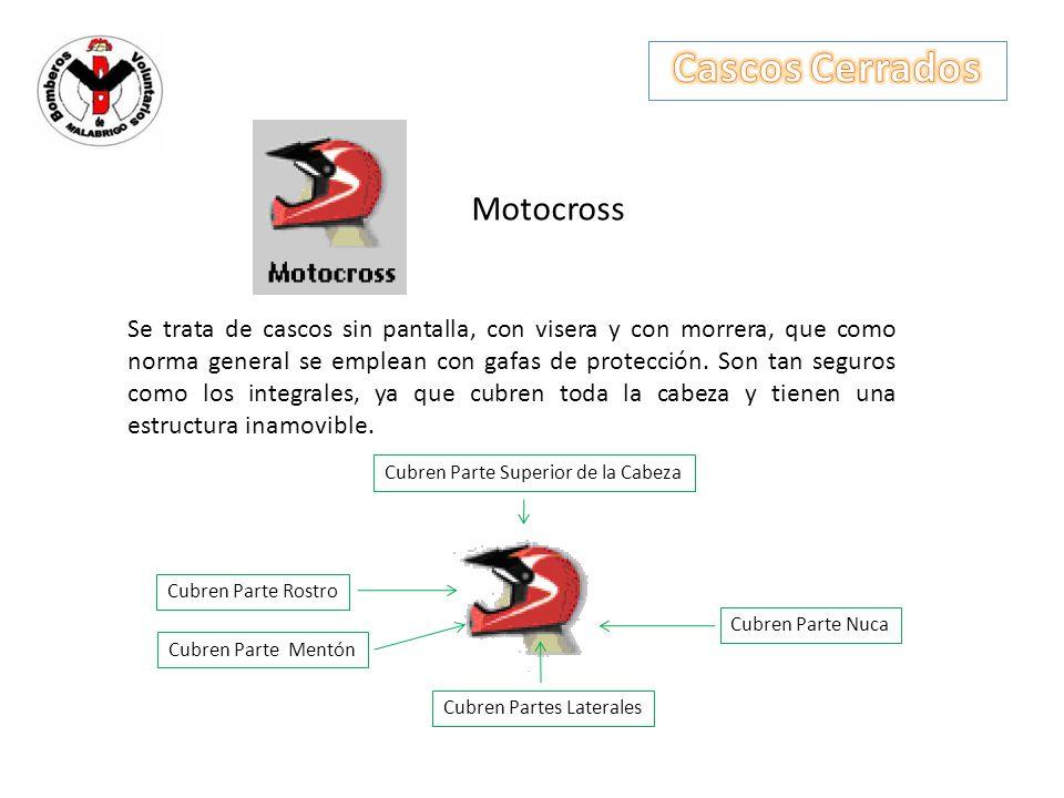 Cascos Cerrados Motocross
