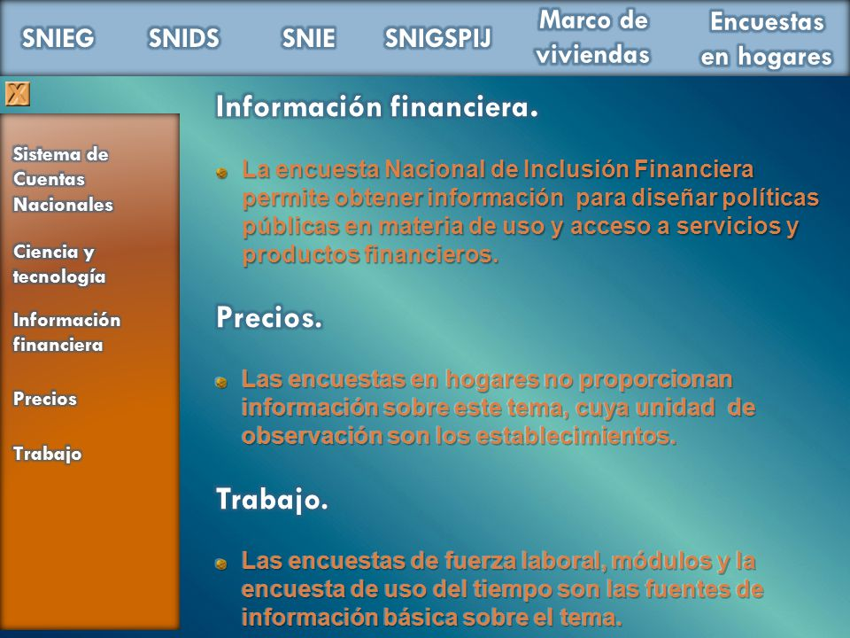 Información financiera.