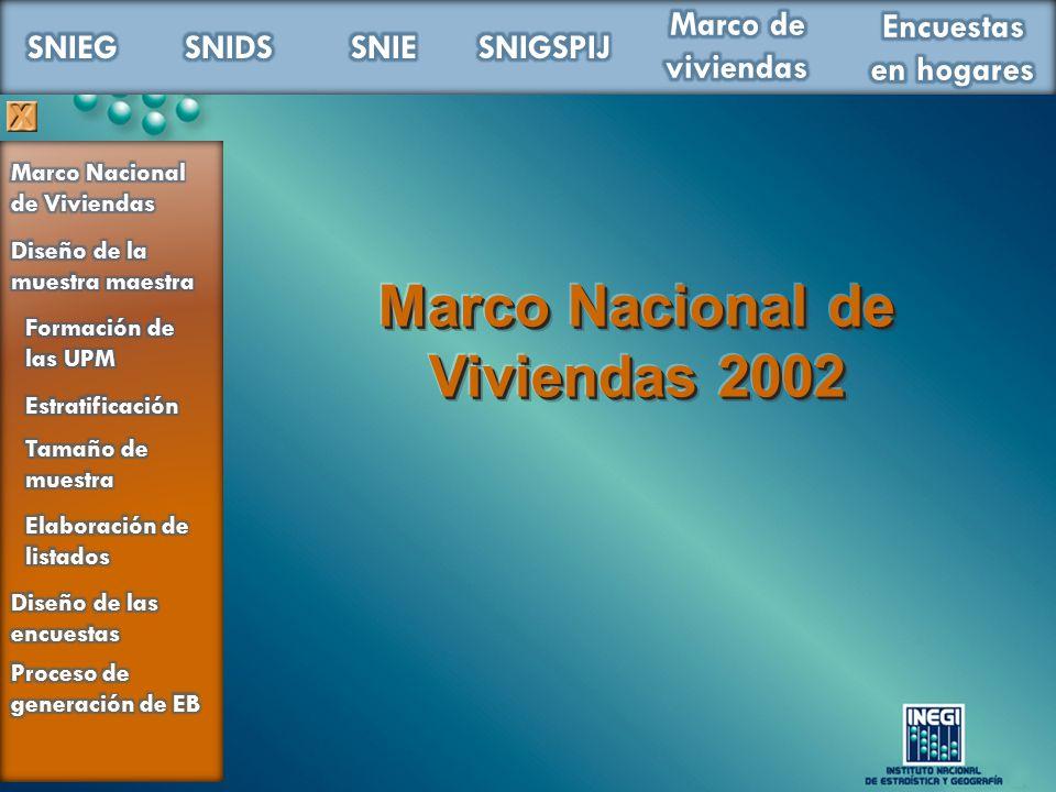 Marco Nacional de Viviendas 2002