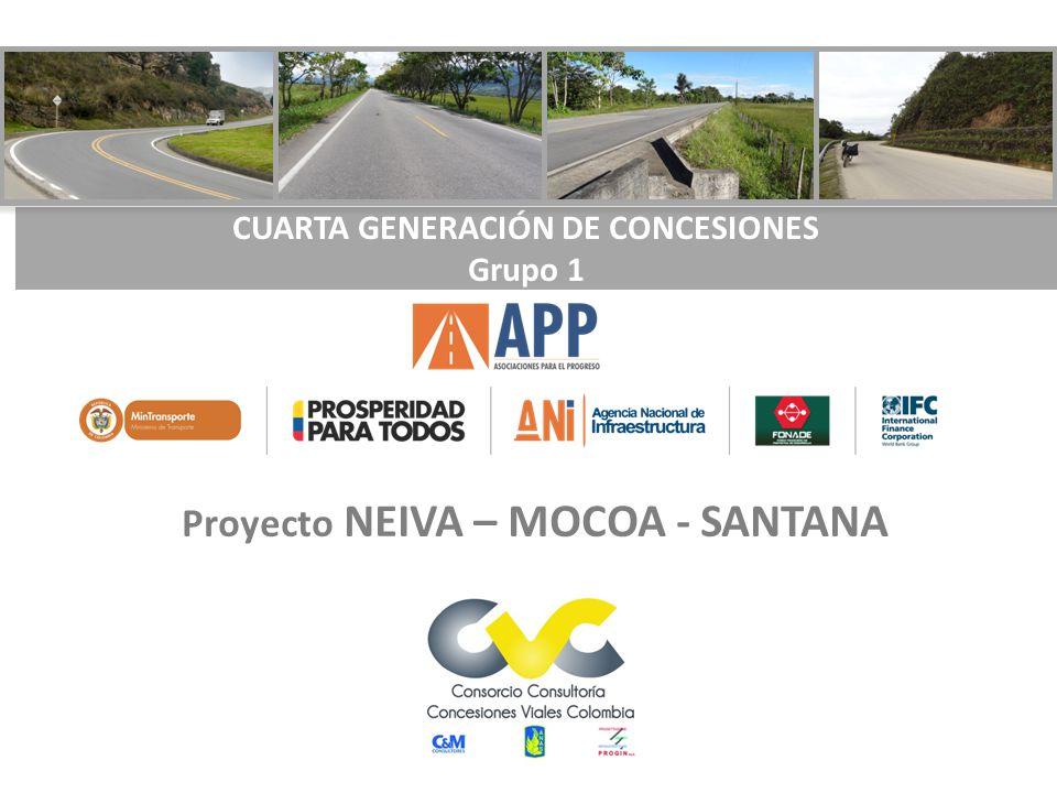 Proyecto NEIVA – MOCOA - SANTANA