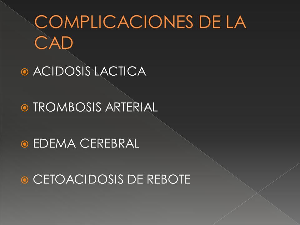 COMPLICACIONES DE LA CAD