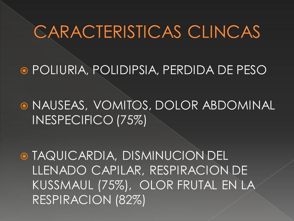 CARACTERISTICAS CLINCAS