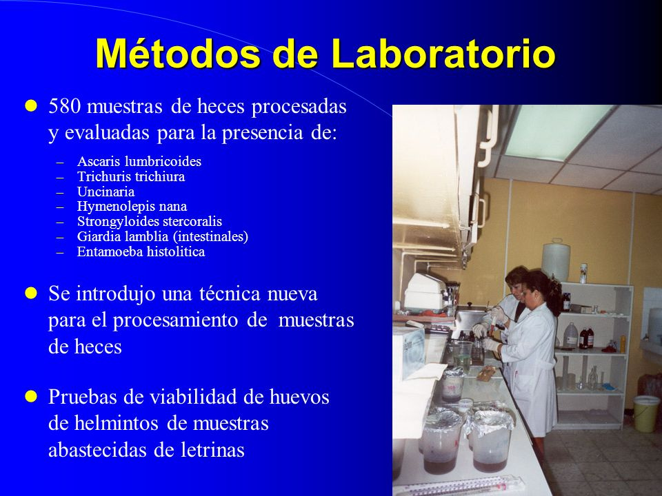 Métodos de Laboratorio