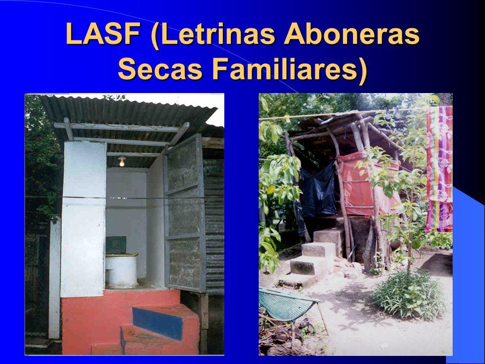 LASF (Letrinas Aboneras Secas Familiares)