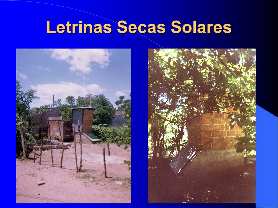 Letrinas Secas Solares