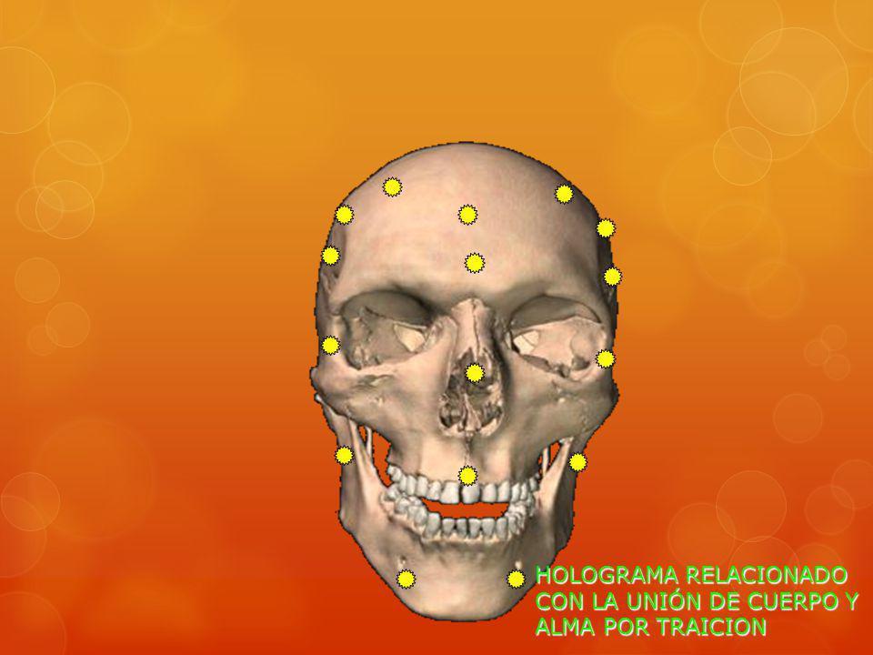 HOLOGRAMA RELACIONADO CON LA UNIÓN DE CUERPO Y ALMA POR TRAICION