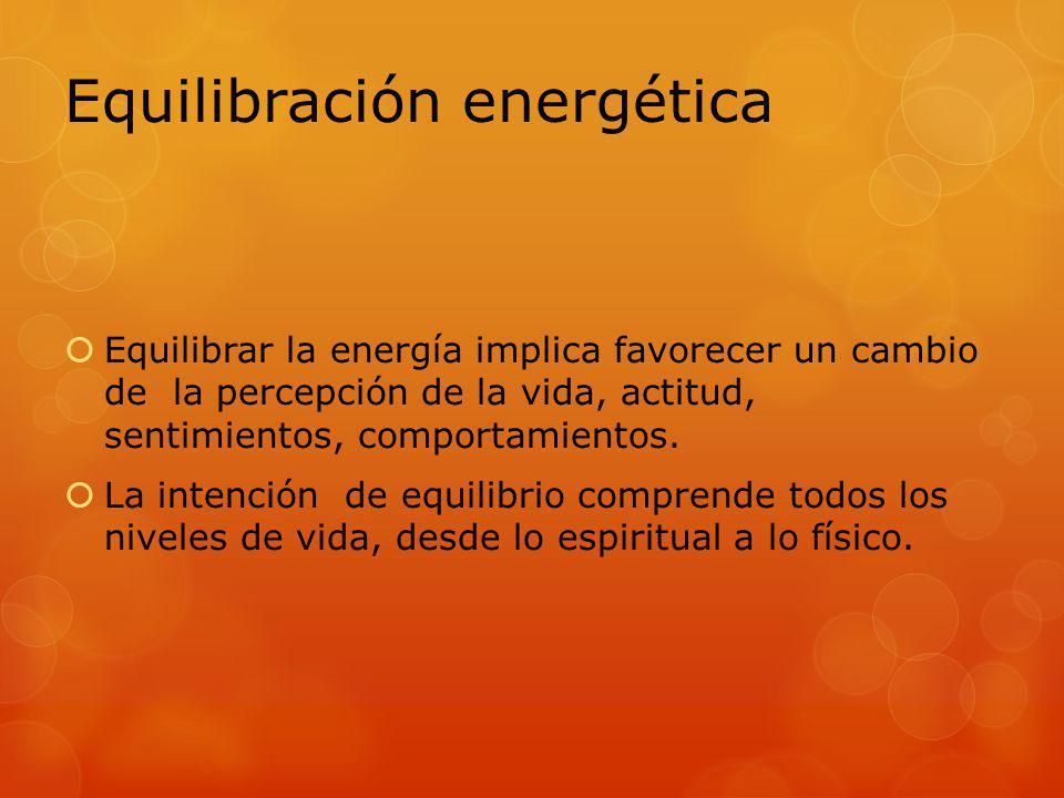 Equilibración energética