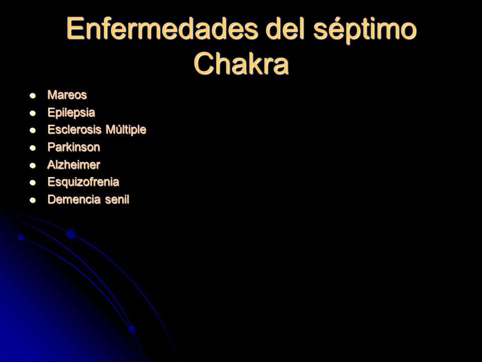 Enfermedades del séptimo Chakra